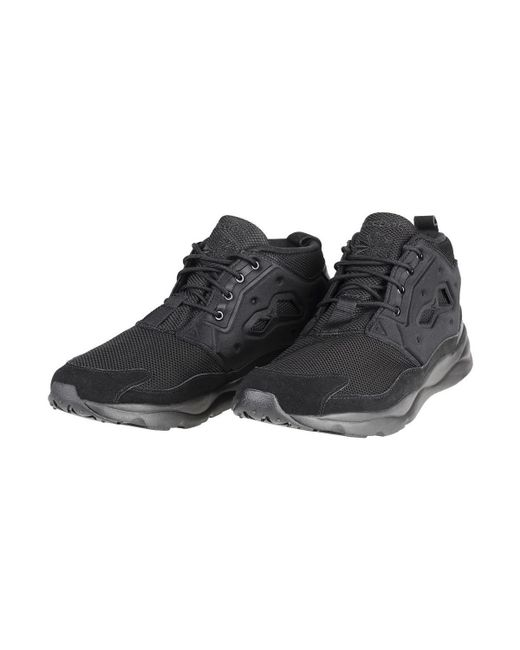 ... Lyst Reebok - Furylite Chukka Men s Shoes (trainers) In Black for Men  ... 1bf6d4729