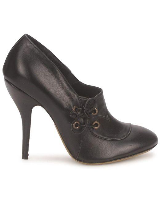 1f70de893ee0 Gaspard Yurkievich C1-var1 Women s Court Shoes In Black in Black - Lyst