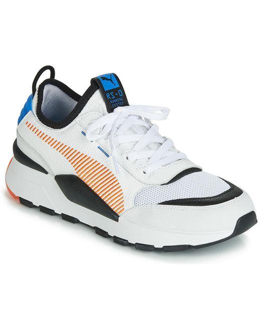 PUMA Lage Sneakers Rs-0 Re-rein Mu in het White voor heren