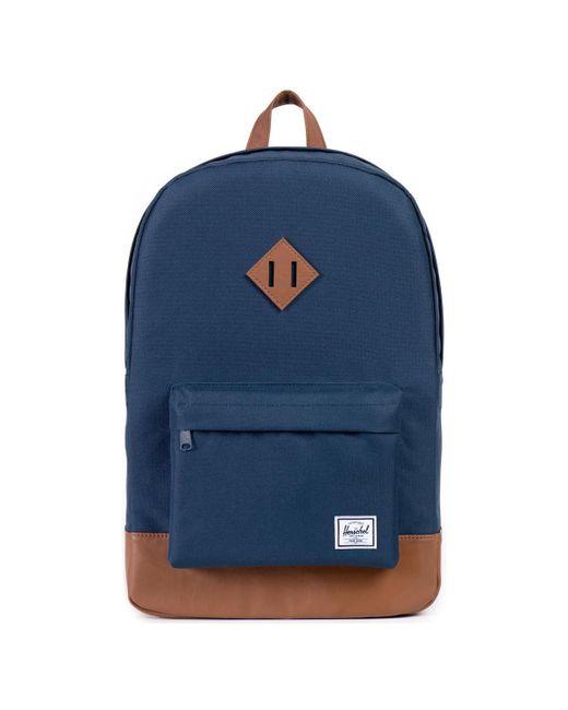 Herschel Supply Co. - Co. Navy/tan Heritage Backpack Women's Backpack In Blue - Lyst