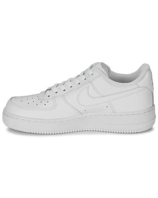 size 40 20a13 e8872 ... Nike - Air Force 1 Sage Low W Womens Shoes (trainers) In White ...