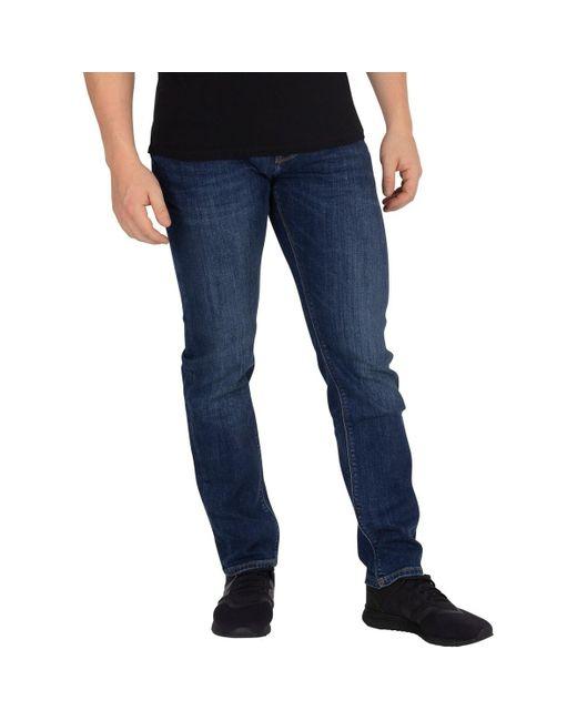 esprit jeans stretch-washed-used-jeans garçon original fit Nouveau