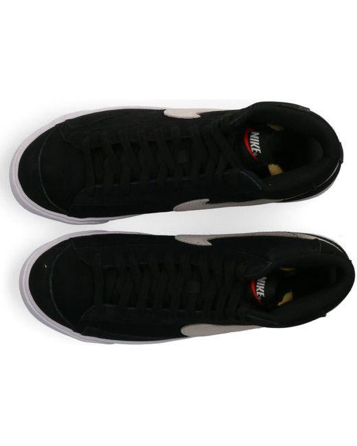 Blazer Mid 77 Suede Nike pour homme en coloris Black