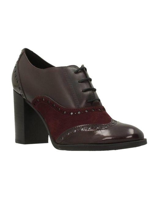 D HERIETE HIGH Boots Geox en coloris Red