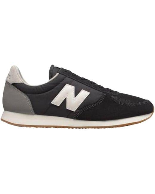 Basket U220 Chaussures New Balance pour homme en coloris Noir - Lyst