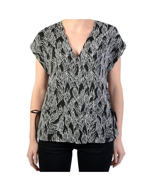 F Lagon T-shirt Le Temps Des Cerises en coloris Black