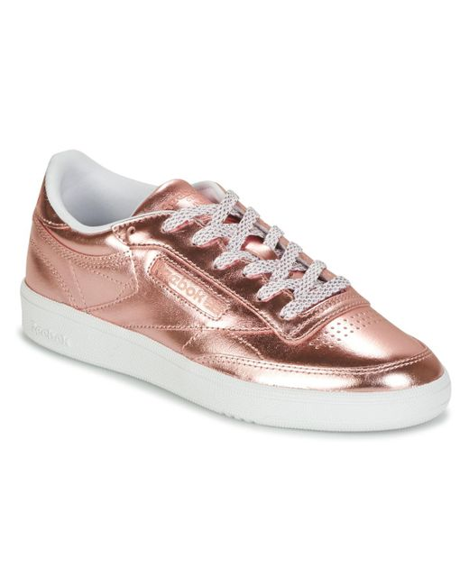 Women's Pink Club C 85 S Shine Shoes (trainers)