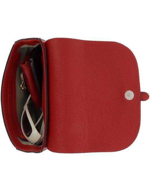 Sac à main Sac à bandoulière en Cuir Monty, rouge Dupond Durand en coloris Red