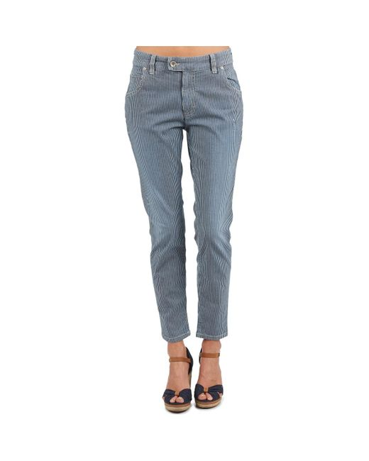 Marc O'polo Straight Jeans Laurel in het Blue