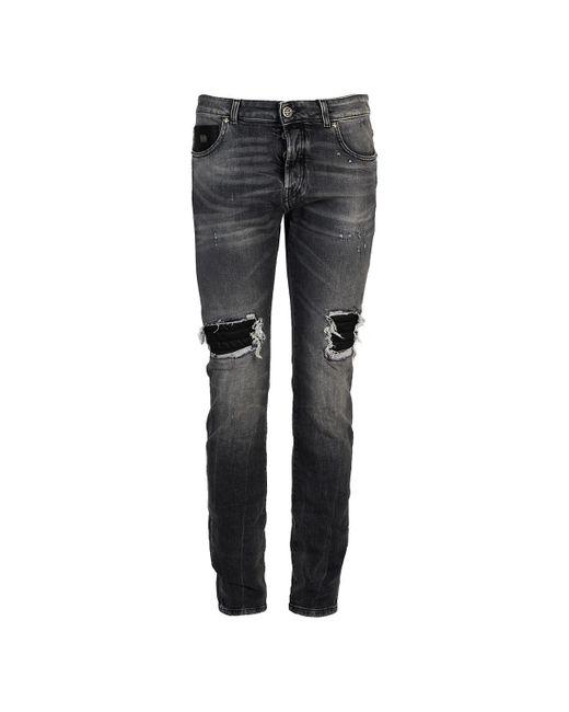 John Richmond Skinny Jeans in het Gray voor heren