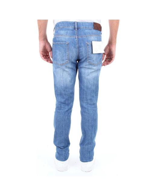 Michael Coal DAVID1038W069L Jeans homme de coloris bleu