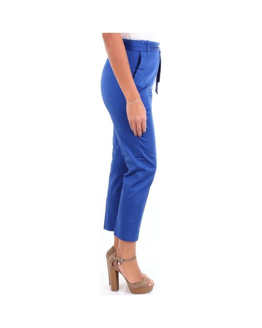 Alessandro Dell'acqua ADW7140N0115E Chinots femme de coloris bleu AOSMi