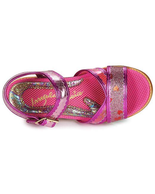 Irregular Choice Sandalen Armastus in het Pink