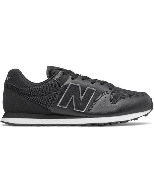 GM 500 Chaussures New Balance pour homme en coloris Noir - Lyst
