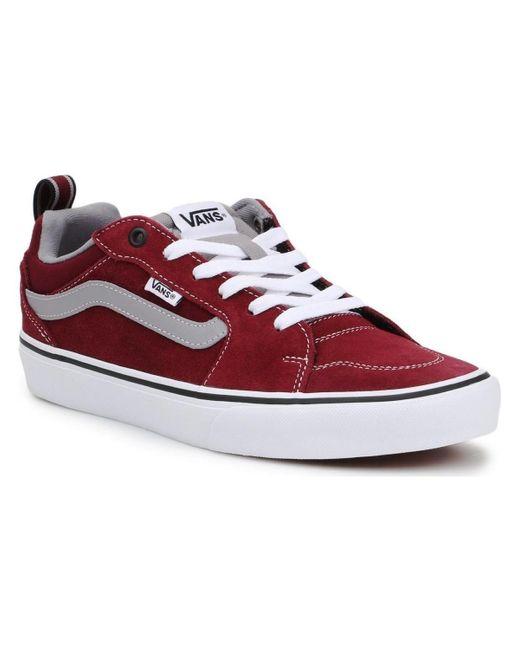 Filmore VN0A3MTJ0Q71 Chaussures Vans pour homme en coloris Rouge ...
