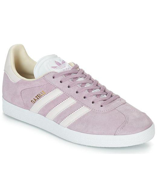 adidas gazelle dames roze