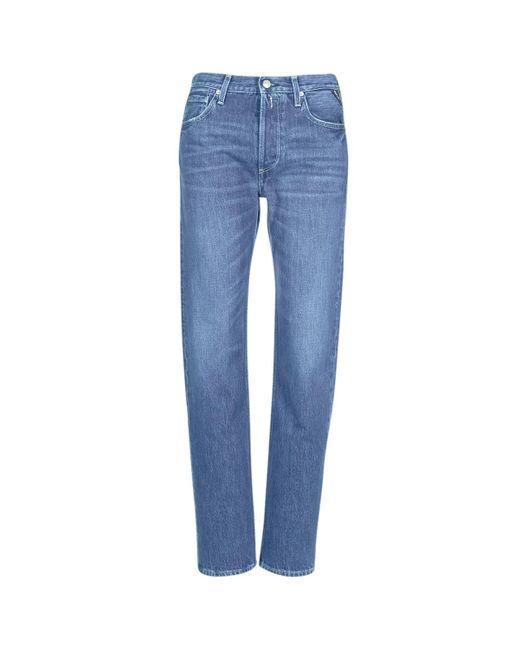 Replay Boyfriend Jeans Alexis in het Blue