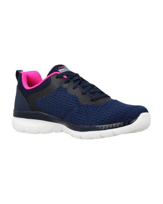 Baskets basses BOUNTIFUL-QUICK PATH Skechers en coloris Blue
