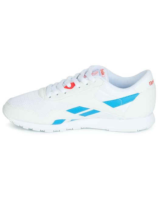 Reebok Lage Sneakers Cl Nylon Txt in het White