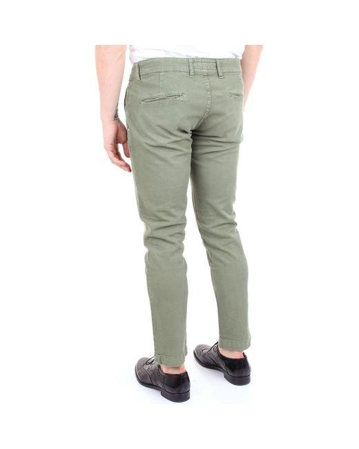 Entre Amis P168342553L22 Pantalon homme de coloris vert UKkSY
