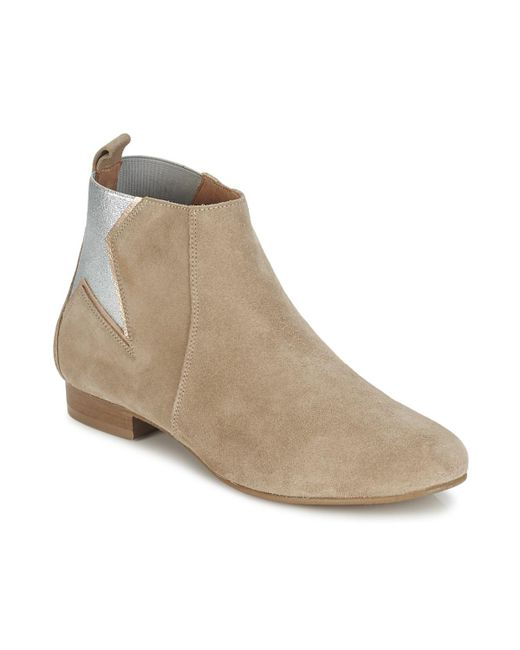 Betty London - Eflome Women's Mid Boots In Brown - Lyst