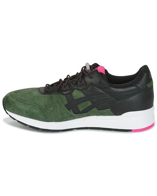 buy popular e6f03 acf6c Asics Leather Gel-lyte Men's Shoes (trainers) In Black for ...