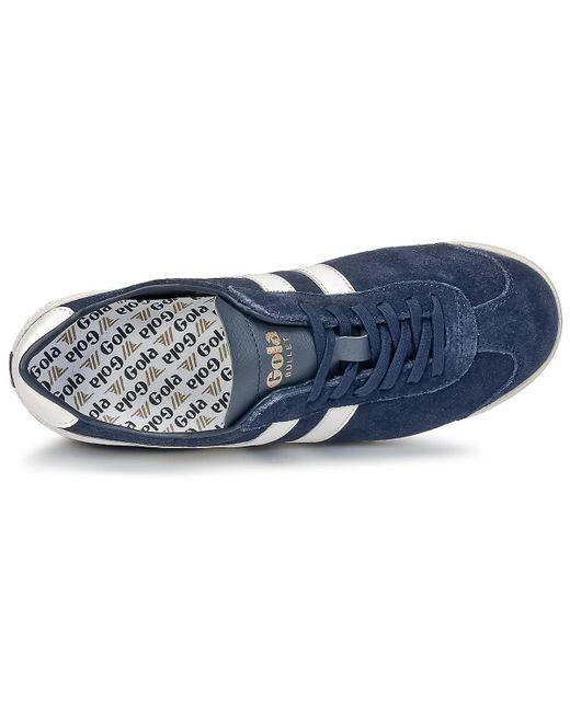 Gola Bullet Suede Blau Men's Schuhes (trainers) In Blau Suede in Blau for Men Lyst fbfab3