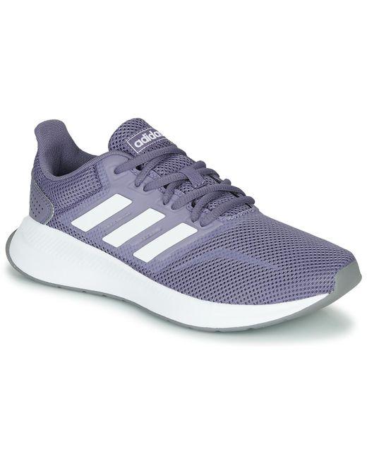 Runfalcon Running Shoe Dentelle adidas en coloris Blanc - 87 % de ...