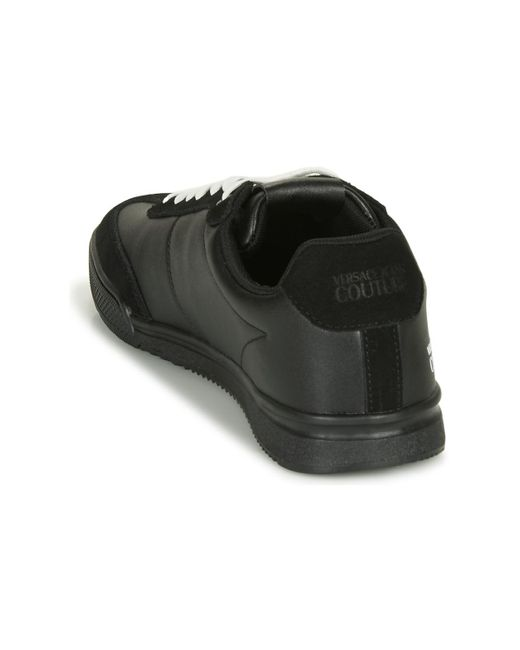Versace Jeans Lage Sneakers Eovvbso3 in het Black voor heren