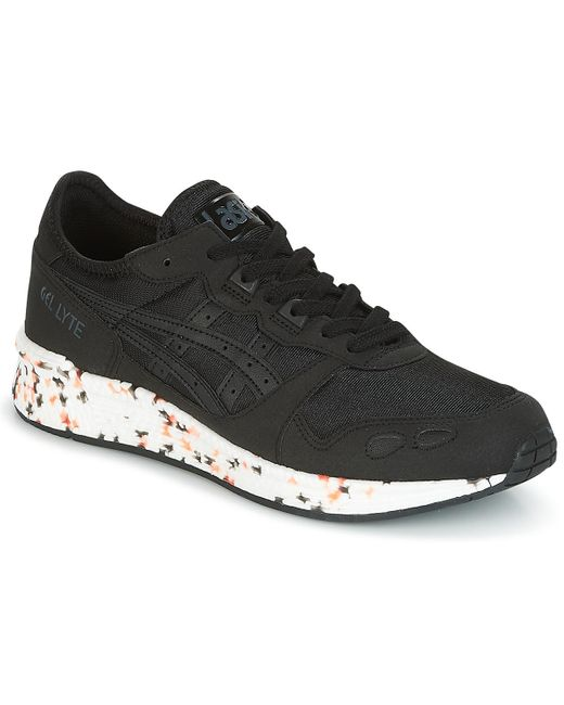 Asics Lage Sneakers Hyper Gel-lyte in het Black voor heren