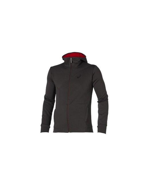 Asics | Gray Training Men's Sweatshirt In Grey for Men | Lyst