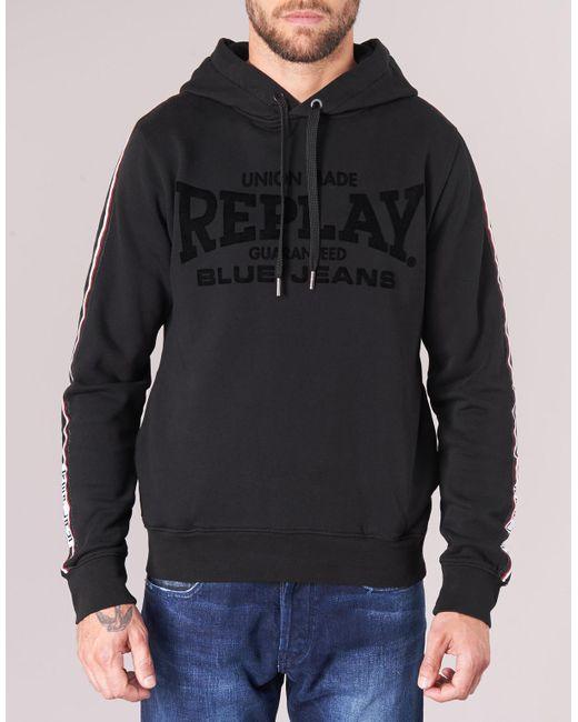 Replay Sweat-shirt YATIPINE yzA9JTA