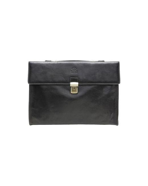 Time Resistance | Moonheart Men's Briefcase In Black for Men | Lyst