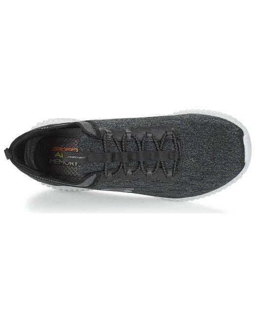 Skechers Elite Flex Hartnell Men's Shoes (trainers) In Black