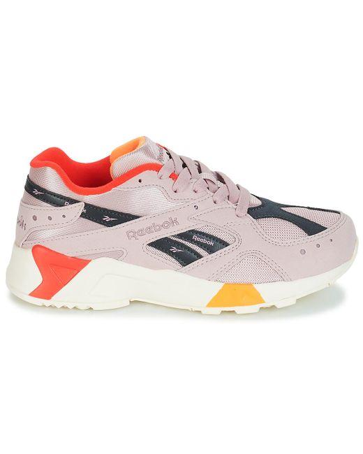 40dedadb5de62 Reebok Aztrek Women s Shoes (trainers) In Pink in Pink - Lyst