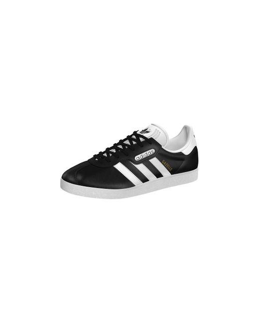 Adidas Gazelle Super Essential Core Black/ Ftw White/ Crystal ...