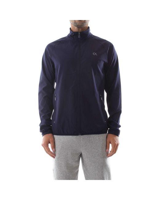 00GMF8O512 WIND JACKET di Calvin Klein in Blue da Uomo