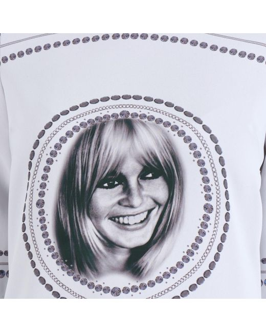 Brigitte Bardot Korte Jurk Bb43121 in het Gray
