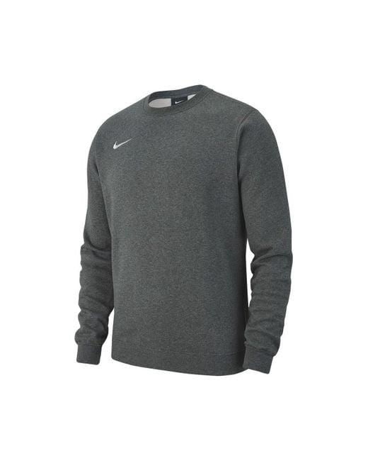 Team Club 19 Crew Fleece Sweat-shirt Nike pour homme en coloris Gray