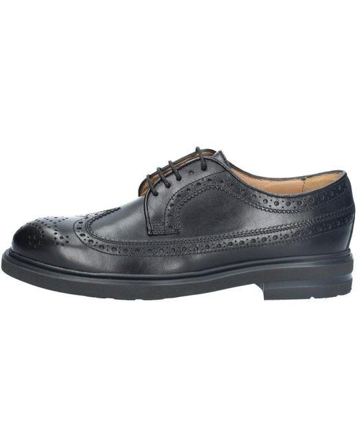 20262 DERBY NOIR Chaussures Antica Cuoieria pour homme en coloris Black