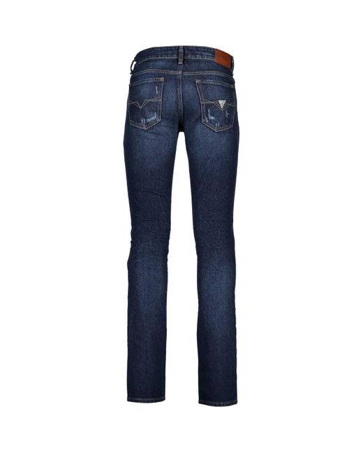 Guess M84AN2D3CB0 Jeans homme de coloris bleu