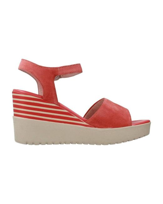 ... Stonefly - Ely 5 Women's Sandals In Red ...