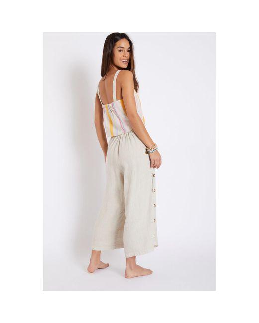 Banana Moon Pantalon PRESLEY HAWSTON femme de coloris neutre