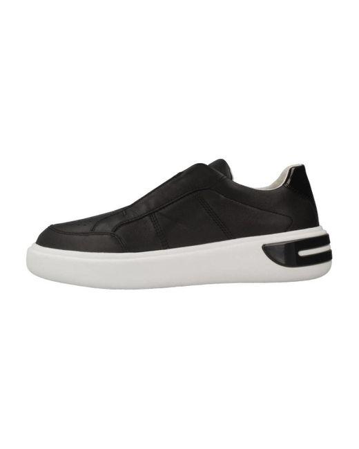 Geox Lage Sneakers D Ottaya in het Black
