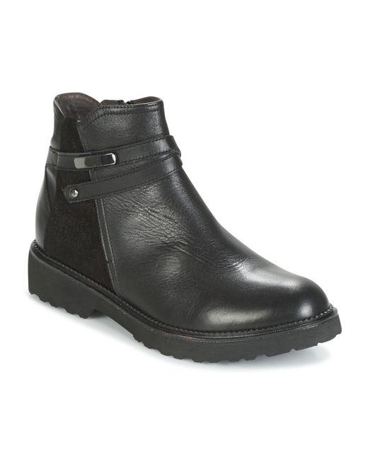 Mam'Zelle - Roux Women's Mid Boots In Black - Lyst