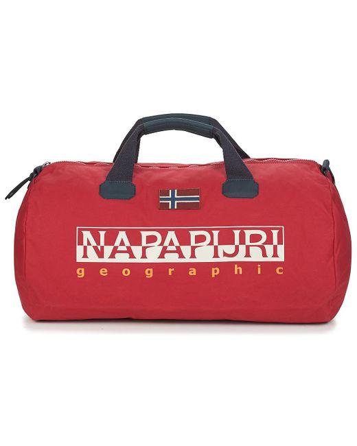 Sac de voyage BEIRING Napapijri en coloris Red