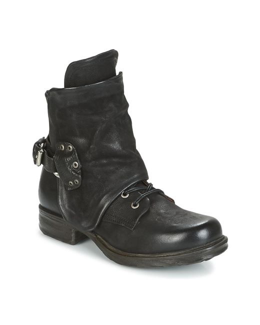 Airstep / A.S.98 - Saint Ec Women's Mid Boots In Black - Lyst
