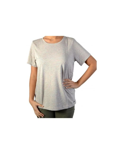 Pepe Jeans | Gray T-shirt Pl502065 Dorian Aamulti Women's T Shirt In Grey | Lyst