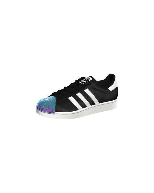 Chaussure Superstar Metal Toe Adidas en coloris Black