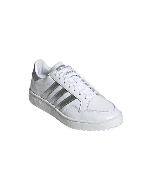 Team court w Chaussures Adidas en coloris White